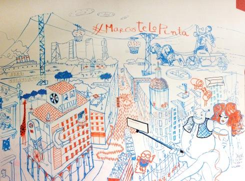 Marcustelopinta XL mural_